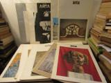 12 numere Revista Arta, 1986 - 1990