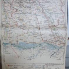 Harta Slatina-Caracal, Bals, Corabia, Slatina, Văleni, 1929