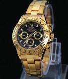 Ceas ROLEX DAYTONA Gold 110grame CALITATE 1 SUPERB (submariner), Lux - elegant, Quartz, Placat cu aur