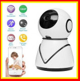 Camera  supraveghere IP WIFI Baby Monitor conectare telefon,1mp ,rotire automata
