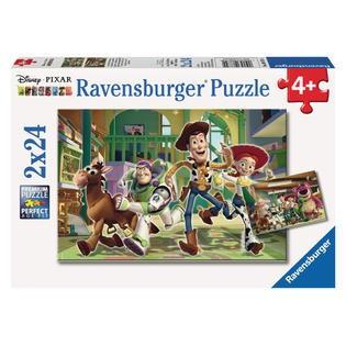 Puzzle Povestea Jucariilor, 2X24 Piese foto