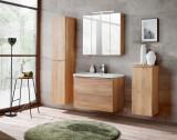 Set Mobilier pentru baie, 5 piese, Capri Oak XL