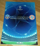 Program Fotbal Steaua Bayern Munchen 2008 Champions league bilet Romania