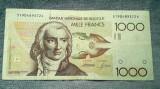 1000 Francs Belgia franci ND (1980 - 1996) / Franci / Frank (2)