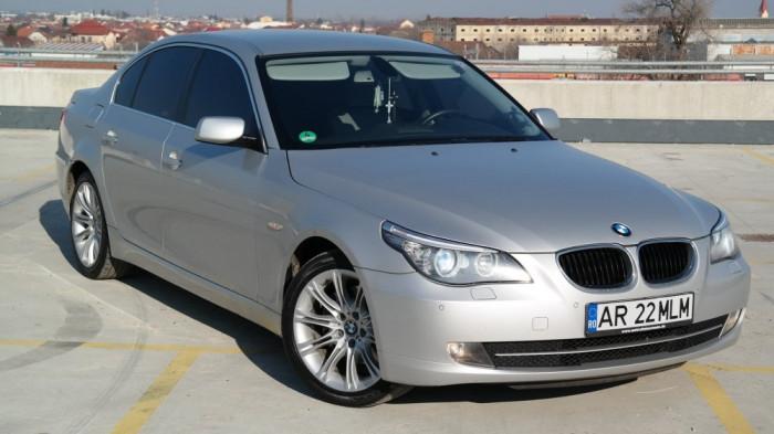 BMW E60 520d facelift, 2.0 Diesel, an 2008