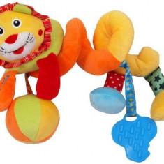 Spirala cu jucarii Lion, Baby Mix