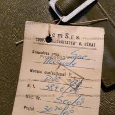 Geanta, Sac  Merinde RSR Vinilin cu eticheta