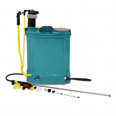 Cumpara ieftin Pompa de stropit 2 in 1 Micul Fermier, actionare electrica si manuala, 16 l, 5 bar, 12 V, 8 Ah