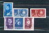 Romania 1961,62 Cosmonautica - LP 516, 516a, 547 - serii neuzate MNH, Nestampilat