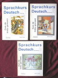 Curs de limba germana SPRACHKURS DEUTSCH, Vol.1+2+3, Colectiv autori, 1993