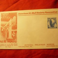 Carte Postala Conventia Soc. Postale Americane 1954 SUA