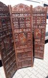 Superb paravan antic tara de proveniență Thailanda lucrat integral manual