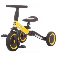Tricicleta si Bicicleta Smarty 2 in 1, Colectia 2020 Yellow