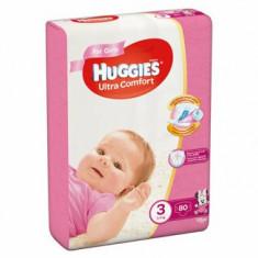 Scutece Huggies ultra confort girl 3 (80) 5-9kg
