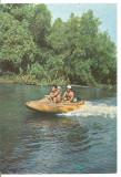 (A) carte postala-DELTA DUNARII-Pe canalul Caraorman
