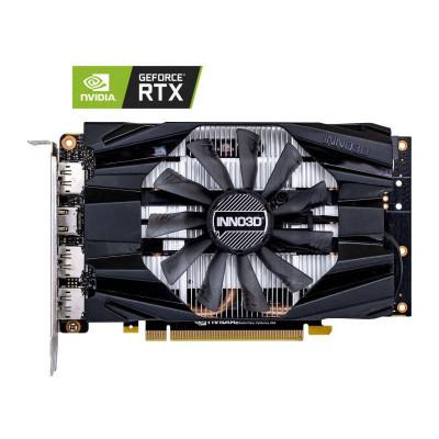 Placa video INNO3D nVidia GeForce RTX 2060 SUPER Compact X1 8GB GDDR6 256bit foto