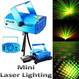 Proiector laser cu joc de lumini si trepied(Laser Stage Lightning)