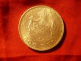 Moneda 500 lei 1944 Mihai I , cal. apr. NC