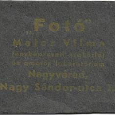 Album fotografic miniatural studio Major Vilma Oradea interbelic vechi