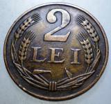 1.196 ROMANIA 2 LEI 1947, Bronz