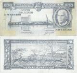 1962 ( 10 VI ) , 20 escudos ( P-92 ) - Angola