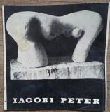 Pliant expozitie sculptura Iacobi Peter 1965