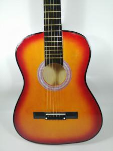 Chitara clasica din lemn 95 cm natur clasic