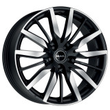 Jante FORD FOCUS 8J x 19 Inch 5X108 et45 - Mak Barbury Ice Black - pret / buc, 8, 5