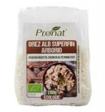 Orez Alb Superfin Arborio pentru Risotto Sushi si Alte Bunatati Bio 200 grame Pronat Cod: PRN10009
