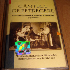 Caseta audio - cantece de petrecere, gheorghe dinica, monica anghel, Casete audio
