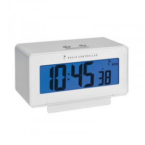 Termometru si higrometru cu ceas si ecran LCD iluminat TFA 60.2544.02