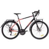 Bicicleta Pegas Calator 28, L/52,5cm, Negru Portocaliu Cod produs: CALATORL525BLK
