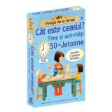 Cat este ceasul - timp si activitati - 50 jetoane cu carioca, Editura DPH