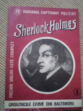 Sherlock Holmes Groaznicele crime din Baltimore Romanul captivant politist 1990, Alta editura