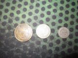 3 monede 200 lei an 1945 25 bani an 1952 10 bani an 1956 x18