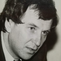 Sorin Cristea, deputat FSN Bacău, prof. Univ. Bucuresti, pedagog, anii 90