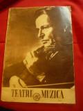 Revista Teatru si Muzica 1955 -Ed.Speciala la moartea lui George Enescu