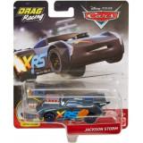 Disney Cars XRS - masinuta metalica de curse personajul Jackson Storm, Mattel