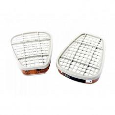 3M Set 2 Buc Filtru Vapori Organici A1 Pentru Masca Gaze 06911