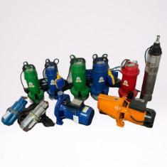 Pompe apa submersibile/ de suprafata