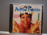Aretha Franklin - Power (1990/Succes/Germany) - CD ORIGINAL/Nou-Sigilat