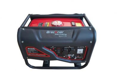 Generator curent pe benzina 3.0kw, 220V, 50HZ, Brekner Germania foto