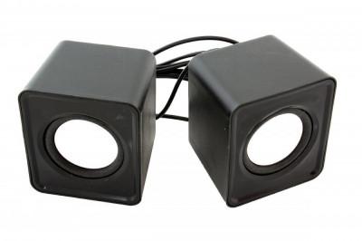 Sistem Mini Boxe 2.0 cu USB ,mini Jack 3,5mm 6w negru foto