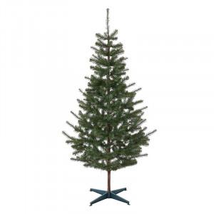 Brad verde artificial, inaltime 220 cm, suport inclus