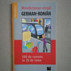 Minidictionar vizual german - roman