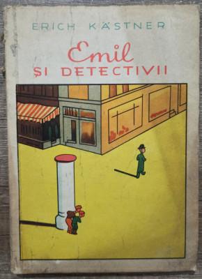 Emil si detectivii - Erich Kastner// ilustratii Walter Trier foto