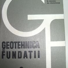 GEOTEHNICA SI FUNDATII M. NICOLAE ED 1967 - 40 LEI