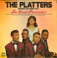 VINIL The Platters ‎– The Great Pretender - VG - foto
