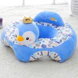 Cumpara ieftin Fotoliu bebe din plus Sit up Animalute BebeMag albastru
