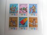 bloc timbre cai calarie Jocurile Olimpice JO nestampilate MNH